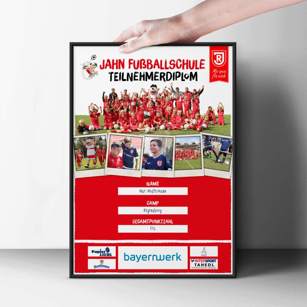 Jahn-Regensburg-Fussballschule-Urkunde
