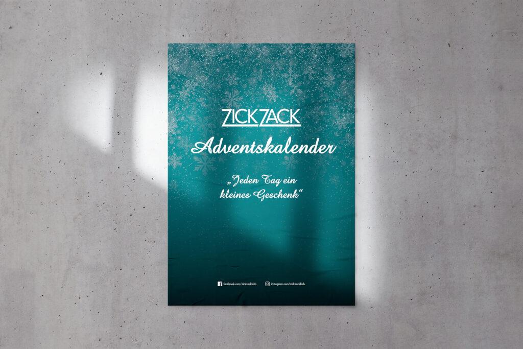 ZickZack-Adventskalender-Plakat